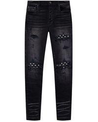 Amiri Patched Jeans - Zwart