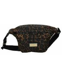 Dolce & Gabbana Leopard-print Belt Bag - Zwart