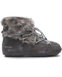 Moon Boot 'dark Side Low' Snow Boots - Grijs