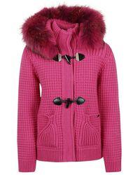 Bark Short coat - Rosa
