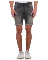 Denham Razor Shorts Emp - Blauw