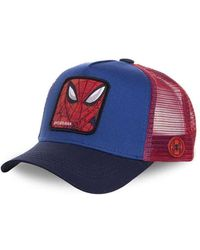Capslab Trucker Cap Marvel Spider-Man - Blau