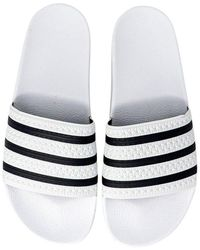 adidas Sliders - Bianco