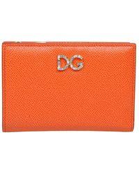 Dolce & Gabbana Portemonnee Bi2697 Au771 80244 - Oranje