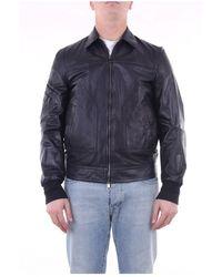 Neil Barrett Pbpe629tn701t Short Jacket - Zwart