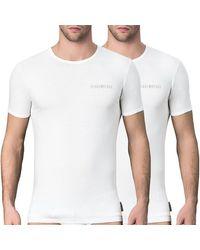 Bikkembergs T-shirts - Wit