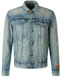 Heron Preston Denim Jacket - Blauw