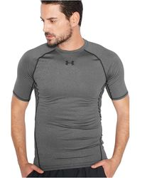 Under Armour Tee Shirt De Compression - Grijs