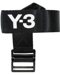 Y-3 Classic Logo Belt - Zwart