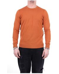 Drumohr D0Gn113 Crewneck sweatshirt - Orange