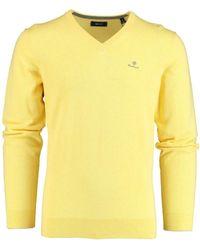 GANT Sweater 8030542 798 - Geel