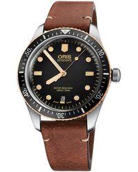 Oris Mod. Divers Sixty-five - Bruin