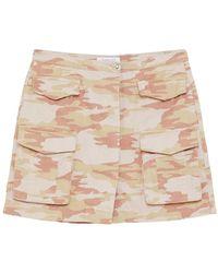 Patrizia Pepe Skirt - Naturel