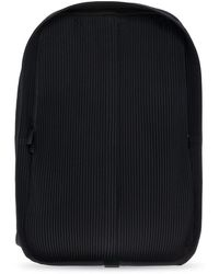 Issey Miyake Pleated backpack - Nero