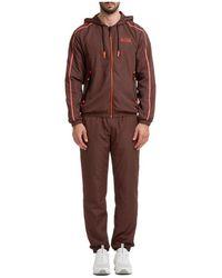 EA7 Tracksuit Pants With Sweatshirt - Bruin