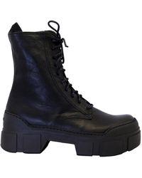 Vic Matié Boots Boots - Zwart