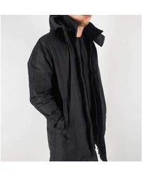 Norse Projects Coat Negro