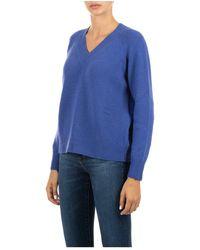 Kiton Sweater Azul