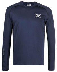 KENZO 'big X' Print T-shirt - Blauw