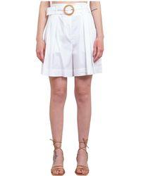 Marella Trousers - Bianco