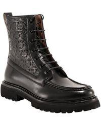 Ferragamo - Ankle Boots 020457745376 Negro - Lyst
