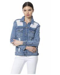 Silvian Heach Jacket - Bleu