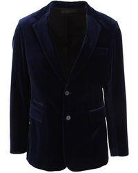 Haider Ackermann Jacket 2043000192 - Blauw