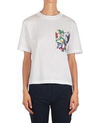 For Love & Lemons - T-shirt Red087Ca45Xxxx.063 - Lyst