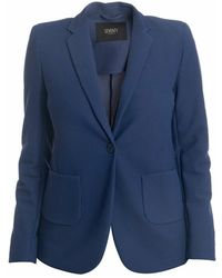 Seventy Jacket - Blauw