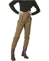 Silvian Heach Pantaloni stretti al fondo - Verde