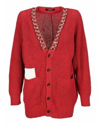 Undercover Knitwear Uc1a19021f - Rood