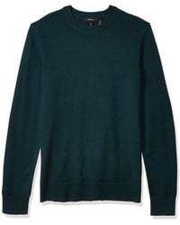 Theory Sweater Crewneck Pullover - Groen
