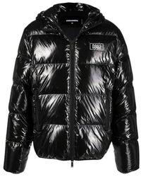 DSquared² Puffer Jacket - Zwart