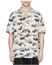 Represent Camicia Vintage Car - Wit