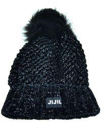 Jijil Cappello Con Pon - Zwart