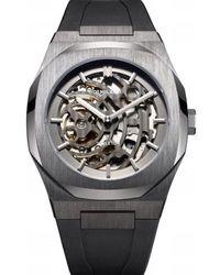 D1 Milano Watch - D1-skrj02 - Grijs