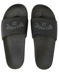 Billabong Flip Flops - Noir