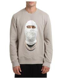 ih nom uh nit Sweatshirt Future Mask - Grijs