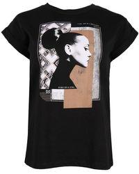 Rinascimento T-shirt Cfc0099748003 - Zwart