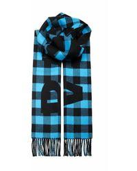 Balenciaga 614831420b04860 Wool Scarf - Blauw