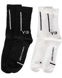 Y-3 Chaussettes - Noir