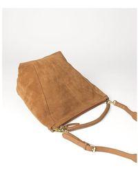 Becksöndergaard Suede Everly Bag Bags - Marrone