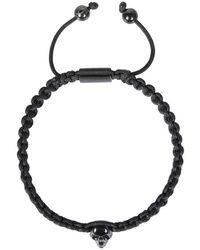 Northskull Bracelet With Skull - Noir