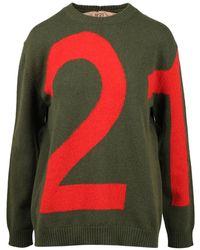 N°21 Sweater - Groen