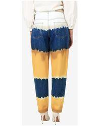 Alberta Ferretti Trousers Azul