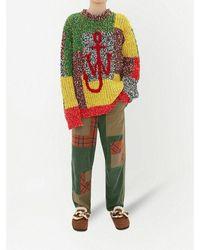 JW Anderson Sweater Rojo - Verde