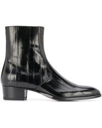 Saint Laurent Shoes - Zwart