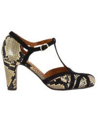 Chie Mihara High-heeled leather pumps f - Grün