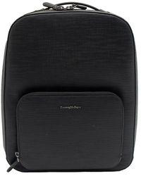 Ermenegildo Zegna Backpack - Zwart