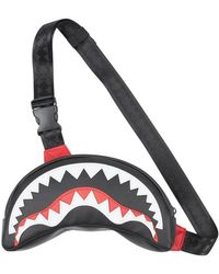 Sprayground Crossbody Belt BAG BY Sharkmouth - Rouge